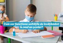 Scenarii de desfășurare a școlii – analiză din perspectiva Dreptului